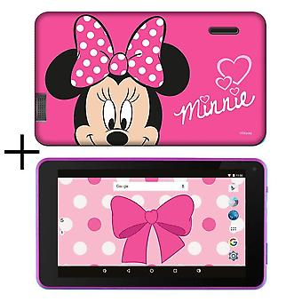 eSTAr 7 inch HD Quad Core Kids 7 inch Tablet in Minnie Mouse geval (MID7388MM)