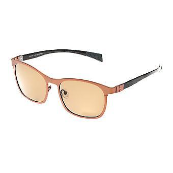 Rasse Halley Titanium polarisiert Sonnenbrille - braun/braun