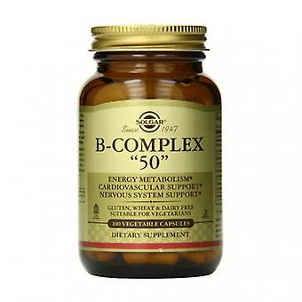 Solgar Formula Vitamin B-Complex 50 Vegicaps 100 (1121)