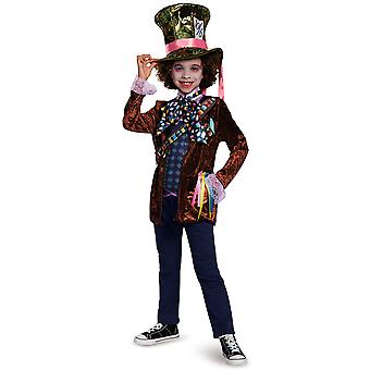 Mad Hatter Classic Alice In Wonderland Disney Story Book Week Boys Costume
