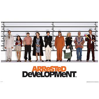 Poster - Studio B - Arrested Development - Line Up 23