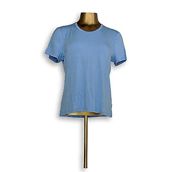 BROOKE SHIELDS Timeless Women's Top Short Sleeve Blue A306638