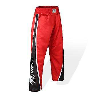 Bytomic V3 adulto Team Kickboxing pantaloni rosso/nero