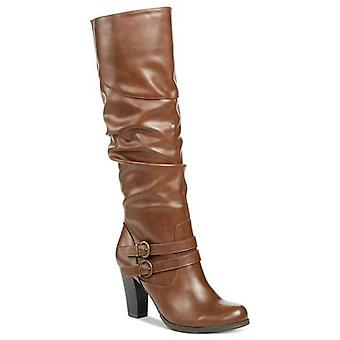 Stijl & Co. Womens SANA amandel teen mid-kalf Fashion Boots