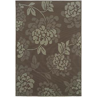 Bali 4335b grey/blue indoor/outdoor rug rectangle 7'10