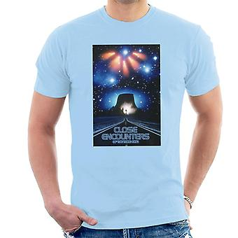 Close Encounters of the Third Kind Mountain Poster Men's T-Shirt