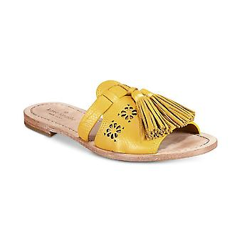 Kate Spade New York Womens Claire Fabric Open Toe Walking Slide Sandals