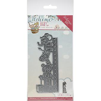 Find It Trading Yvonne Creations Die-Growth Chart, Welcome Baby