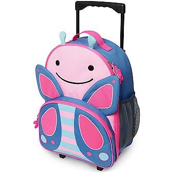 Skip Hop Zoo Luggage Kids Rolling Suitcase