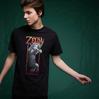 Legend Of Zelda Link Bow T-Shirt - Noir