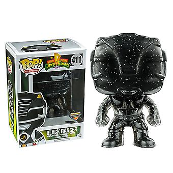 Power Rangers Black Ranger morphing os eksklusiv pop! Vinyl