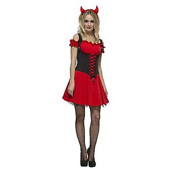 Costume da abito fantasia Halloween per le donne malvagio Halloween