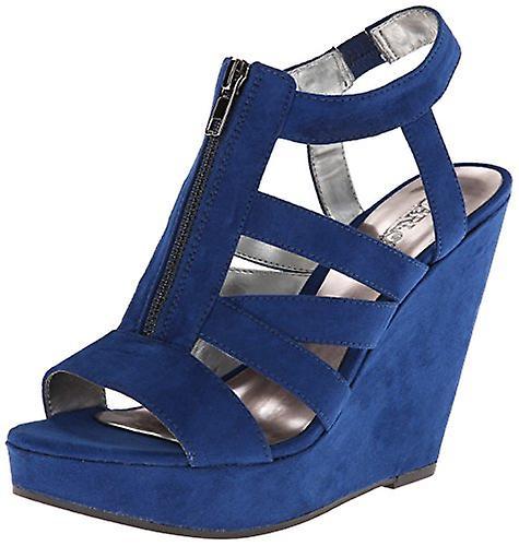 Carlos by Carlos Santana Womens Kaila Fabric Open Toe Casual Platform Sandals m5I21