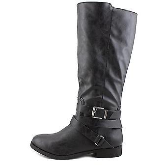 Stil & Co. Damen Mayy Leder Mandel Toe Knie hohe Reitstiefel