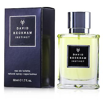 David Beckham Instinct Eau De Toilette Spray - 50ml/1.7oz