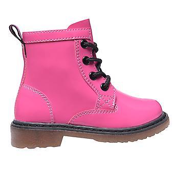Miso meisjes Baby's kinderen Brandi Lace up grootte zip Chunky laarzen winter schoenen