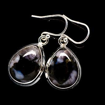 Gabbro Stone Earrings 1 1/4