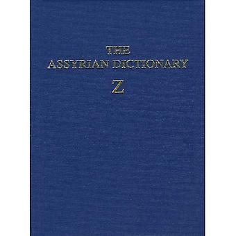 The Assyrian Dictionary of the Oriental Institute of the University of Chicago