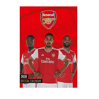 Arsenal 2020 Official Wall Calendar