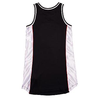 Junior Girls Converse Basketball Jersey Kleid In schwarz