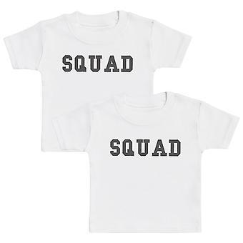 SQUAD Baby T-Shirt Twin Set
