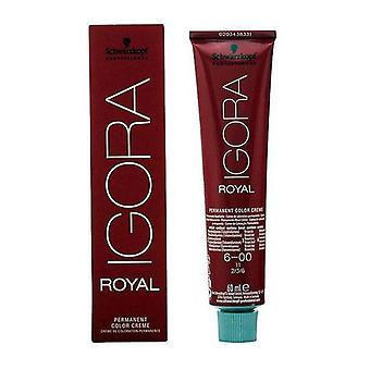 Permanent Dye Igora Royal Schwarzkopf Nº 6-00