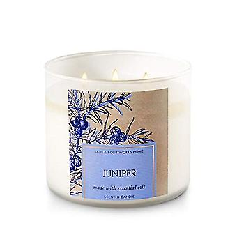 Bad & Body Works hjem Juniper laget med essensielle oljer Scanted Candle 14,5 oz/411 g