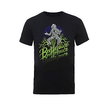 Beetlejuice Michael Keaton Green Logo Official T-Shirt