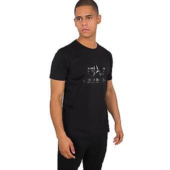 Alpha Industries Men's T-Shirt Vinyl Logo