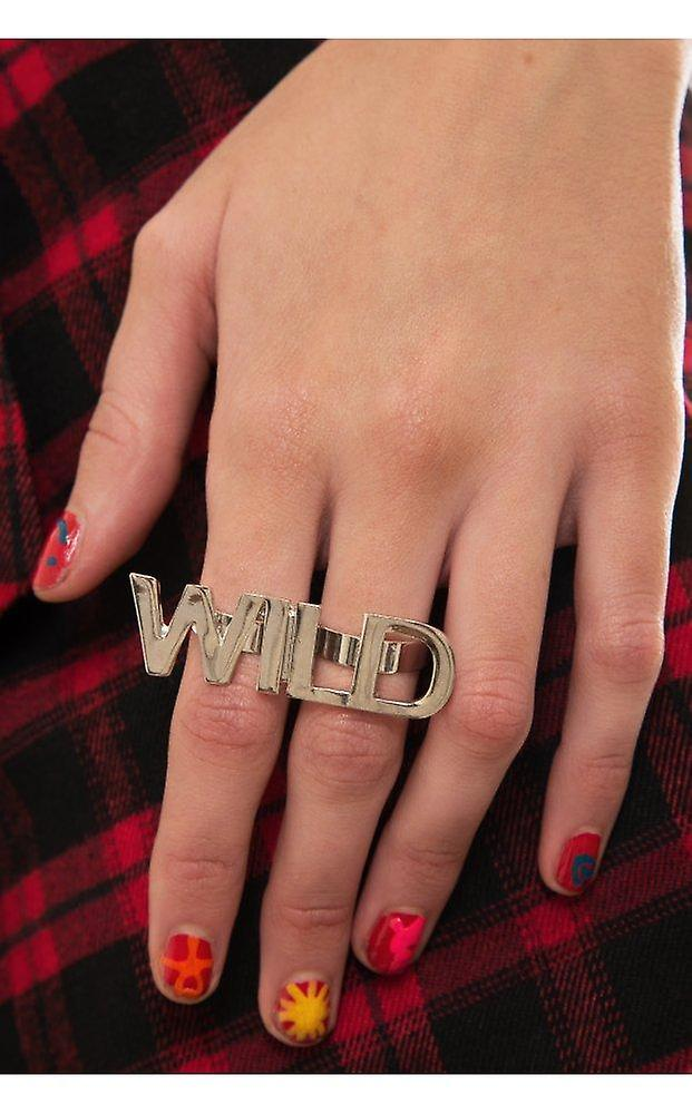 WILD Double Finger Ring In
