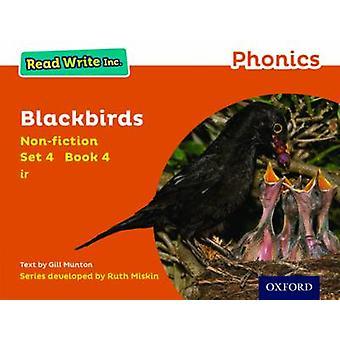 Les Write Inc. Phonics Orange Set 4 Nonfiction 4 Blackbirds av Gill Munton