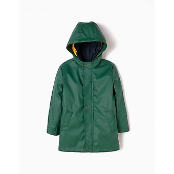 Zippy Rubber Jacket Posy Green