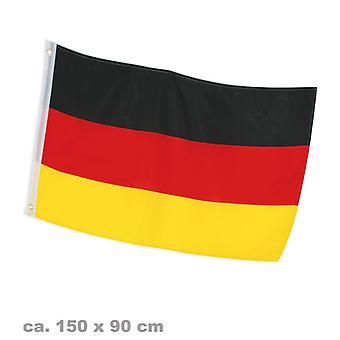 Fan de parties de football Allemagne drapeau 90 x 150