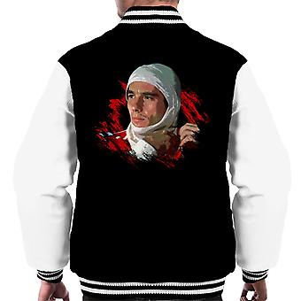 Motorsport Images Ayrton Senna Racing Suit Men's Varsity Jacket