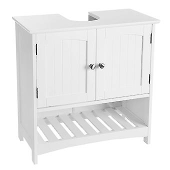Mosdó szekrény 2 ajtóval és nyitott hűtőrács