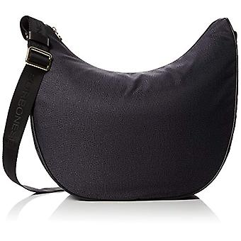 Borbonese L934777296 Black Women's Shoulder Bag 35x38x15 cm (W x H x L)