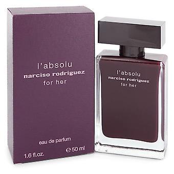 Narciso Rodriguez L'absolu by Narciso Rodriguez Eau De Parfum Spray 1.6 oz / 50 ml (Women)
