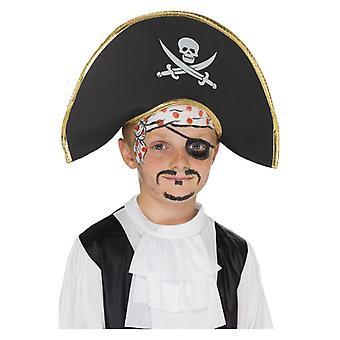 Pojat merirosvo Kapteeni-Hat naamiaispuku lisävaruste
