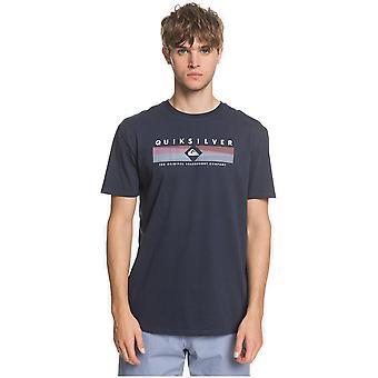 quiksilver fjern formue kortermet t-skjorte i navy blazer