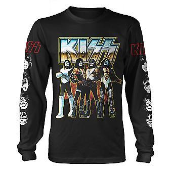 Kiss Long Sleeve Love Gun Official Tee T-Shirt Mens Unisex