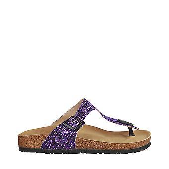 Ana Lublin Original Women Spring/Summer Flip Flops - Violet Color 30170