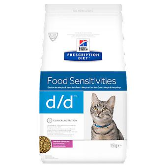 Hill's Prescription Diet d/d Duck (Cats , Cat Food , Dry Food)