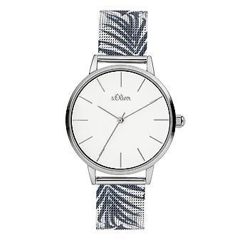 s.Oliver Ladies Watch Wristwatch Stainless Steel SO-3977-MQ