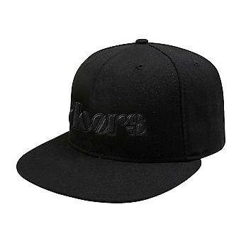 The Doors Baseball Cap Classic Band Logo new Official Black Snapback