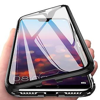 Huawei P20 Pro Shell med skærmbeskytter sort