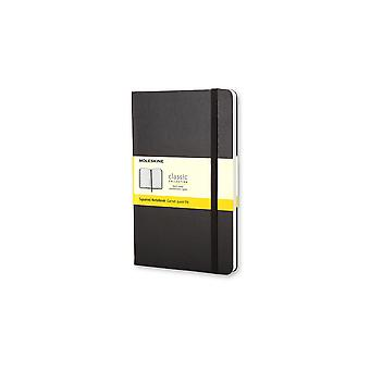 Moleskine squared notebook large - hard cover -black