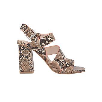 Kendall + Kylie Kk2barlena02 Women's Brown Leather Sandals