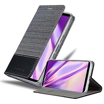 Case for Sony Xperia 5 Foldable Phone Case - Cover - with Stand Function and Card Slot