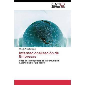 Internacionalizacin de Empresas by Arias Sandoval Alberto