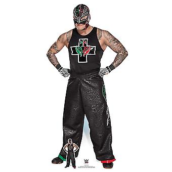 Rey Mysterio Hands on Hips WWE Lifesize Cardboard Cutout / Standee / Standup